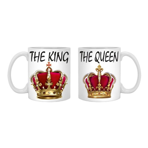 Комплект чаши The King and The Queen